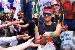 Pride London 2019 - DSCF2407a (normko) Tags: london pride parade 2019 regent street gay lesbian bi trans celebration protest rainbow tesco