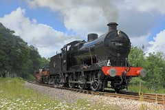 15th June 2019. Road & Rail at the Bluebell (Dangerous44) Tags: qclass 30541 bluebell railway goods