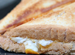 2019 Macro Mondays: Danger (dominotic) Tags: danger 2019 macromondays hotmeltedcheese sydney australia toastedcheesesandwich cheesejaffle food foodphotography yᑌᗰᗰy