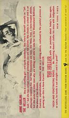 Bantam Books A1708 - William E. Henning - The Heller (back) (swallace99) Tags: bantam vintage 50s bestseller paperback stanleyzuckerberg