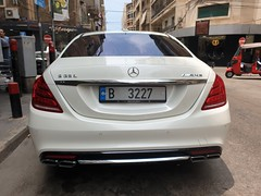 Mercedes Benz S65, a rare sight.