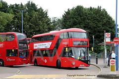 IMG_2504-060719 (andrewcolebourne) Tags: london londonbus transportforlondon londonoverground railreplacement routel3 chingford station stagecoachlondon 10138 lx12dfp barkinggarage bk route179 arrivalondon lt575 ltz1575 dennis enviro400 alexander wright newroutemaster