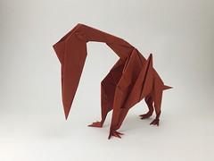 Quetzalcoatlus (kaede1969) Tags: origami quetzalcoatlus dinosaur