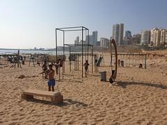 Ramlet Al Baida beach, Beirut.