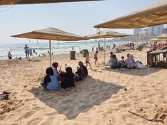 Ramlet Al Baida public beach, Beirut.