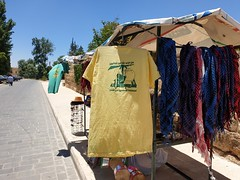 Hezbollah shirt for sale.