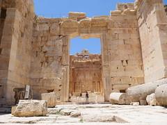 Baalbek, UNESCO site.