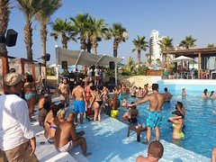Every day is Saturday at Riviera Beach Lounge during summer.