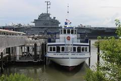 Spirit of Charleston bow, Patriots Point (MJRGoblin) Tags: mountpleasant southcarolina 2019 charlestoncounty patriotspointnavalmaritimemuseum