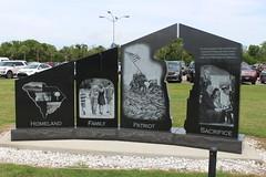 Gold Star Families Memorial Monument back, Patriots Point (MJRGoblin) Tags: mountpleasant southcarolina 2019 charlestoncounty patriotspointnavalmaritimemuseum