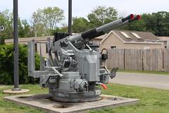 40MM Bofors Anti-Aircraft Gun, Patriots Point (MJRGoblin) Tags: mountpleasant southcarolina 2019 charlestoncounty patriotspointnavalmaritimemuseum