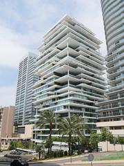 Luxury apartment building, Beirut.
