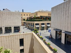 Beirut Souks, a luxury shopping mall, based outside.