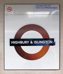 Highbury & Islington Overground station (bowroaduk) Tags: londonoverground transportforlondon