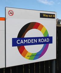 Camden Road Overground station (bowroaduk) Tags: londonoverground transportforlondon