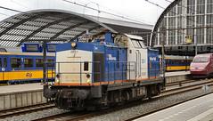 202 539-3 203-1 Tom 2019.07.06 Amsterdam Centraal (35) - a (Rob NS) Tags: ddr v100 2031 amsterdamcentraal tom baureihe202 202539 railinfrapool volkerrail thalys 4537 pba