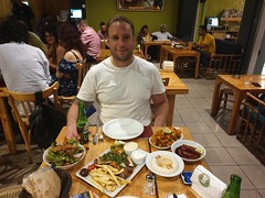 First night, first Lebaneese meal on this tour.