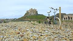 Lindisfarne Castle (with random bike) (Dibbly Dobbler) Tags: lindisfarne castle sonyrx10iii