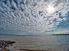 clouds and sea (Nevrimski) Tags: minehead clouds sea