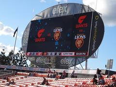 Greater Western Sydney Giants 11.8(74):14.10(94) Brisbane Lions (fchmksfkcb) Tags: sydneyshowgrounds giantsstadium groundhopping greater western sydney giants brisbane lions australia australien australianfootball afl sydneygiants gwsgiants greaterwesternsydneygiants brisbanelions