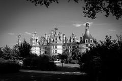 Chambord 1 NB (gilles207) Tags: 45 chambord chateau castle renaissance françois1er canon 5d3 nag chateaudelaloire