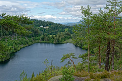 Stufsrud bygdeborg (mrpb27) Tags: viewpoint utsikt gcinfo geocaching cache gc736w7 ironage hillfort bygdeborg holmestrand vestfold norway norge nikon d5200 18200mmf3556gedifafsvrdx dxophotolab mrpb27