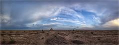 Tarde de campo (Fernando Forniés Gracia) Tags: españa aragón zaragoza calatorao naturaleza campo airelibre nubes cielo árbol landscape paisaje nevero aljibe panorámica