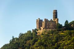 Upside Castle at River Rhine (cokbilmis-foto) Tags: castle rhein rhine burg ruine nikon d3300 nikkor 18105mm