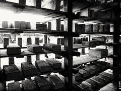 Former brickfactory, Losser, the Netherlands (bobbykwibus) Tags: zwartwit blackandwhite industrie industry abandoned decline losser thenetherlands holland nederland urbex stone bricks baksteen