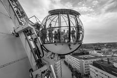 Sky View (Nic2209) Tags: nikond750 nic2209 flickr2019 flickr 2019 schweden stockholm station skyview sw schwarzweis