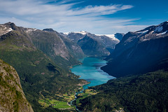 Magnificent View (Olof Virdhall) Tags: view mountain fjord norway canon eos5 mkiii olofvirdhall loen