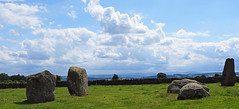 Long Meg and her daughters looking down the Eden Valley. (greengrocer48) Tags: edenvalley cumbria stonecircle longmeg