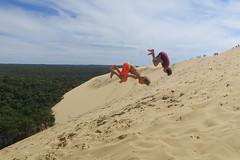 Bassin d'Arcachon (pictopix) Tags: arcachon bassin bassindarcachon dunedupilat mer sable thalasso thalazur dune pilat saut arrière