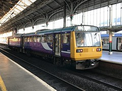 20190703 002 Preston. 142049 2N16 20.57 To Colne (15038) Tags: railways trains br britishrail diesel dmu class142 preston 142049