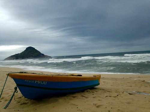 Forgotten beach in Brazil