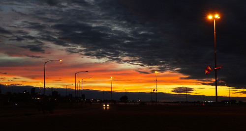 Sunset in Paraguay