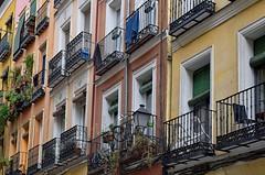 Balconies (Jocelyn777) Tags: windows balconies facades buildings architecture colours madrid spain travel