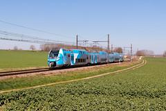 du neuf pour Rhône Alpes (videostrains) Tags: z55500 sncf train automotrices regio2n rhone alpes electrique ter saone et loire tournus boyer railway bahn