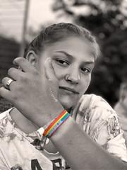 Pride (JustLens) Tags: pride iphone xs pridemonth juni june black white bw