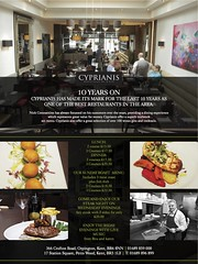 CIPRIANIS Advert (Adam Swaine) Tags: adverts adamswaine interiors canon editorial photography kent restaurants uk food