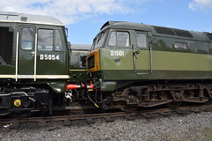 Preserved Sulzers at Bury (colin9007) Tags: eastlancashirerailway elr bury baron street buckley wells br sulzer type2 class 24 d5054 24054 brush type 4 47 d1501 47402