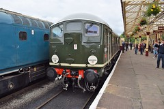 D5054 at Ramsbottom (colin9007) Tags: eastlancashirerailway elr bury ramsbottom brcw sulzer class 33 br type2 24 d5054 24054