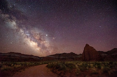 Temple of the Moon - Capitol Reef, 2019 (Dino Sokocevic) Tags: capitolreef utah utahphotographers desert outdoors landscape landscapes nationalpark nationalparkservice usa southwest astrophotography nasa space astro milkyway