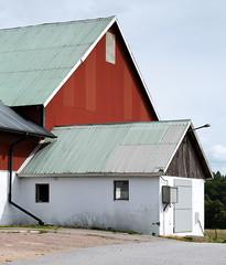 Barn on a farm in Immestad (aka CJ) Tags: immestad lysekil farm house summer barn