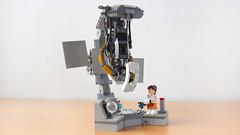 Lego Portal 2 GLaDOS vs Chell and Wheatley (hachiroku24) Tags: lego portal glados wheatley game chell moc ideas project facebook