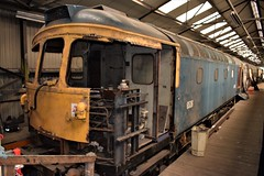 Class 33/1 6536 (33117) undergoing major restoration at Bury, Baron St. (colin9007) Tags: eastlancashirerailway elr bury baron street buckley wells brcw sulzer class 33 d6536 33117
