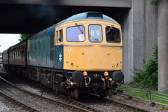 33035 at Bury (colin9007) Tags: eastlancashirerailway elr bury brcw sulzer class 33 33035 d6553