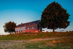 Little house on the dike (markregelink) Tags: 2019 arnhem avondfotografie brug gelderland landschap nederland rijn