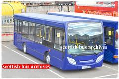 GLASGOW CITYBUS KX59CYZ (SCOTTISH BUS ARCHIVES) Tags: kx59cyz adlenviro glasgowcitybus westcoastmotors 17 powellandwatson igo wmsnt