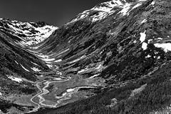 Wiggly Road (Role Bigler) Tags: canon natur berge schwarzweiss klausenpass 50mp filmsimulation filmemulation fujineopanacros100simulation canoneos5dsr wiggleroad blackandwhite bw mountain snow mountains alps nature monochrome rock river schweiz switzerland blackwhite suisse monotone wiggly mount valley alpen svizzera swissalps mountainrange montainrange fullformat wigglyroad silverefexpro2 wiggleriver ef401635lisusm